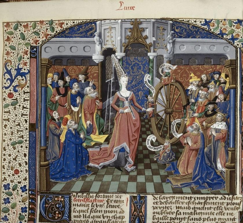 dame middeleeuwen