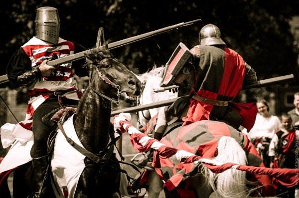 riddertoernooi modern