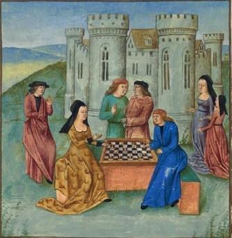 Middeleeuws schaken01