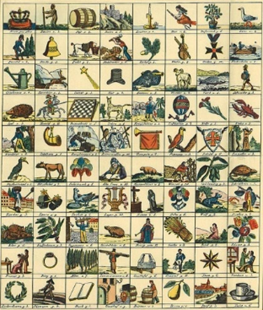Lotteriespel 1830