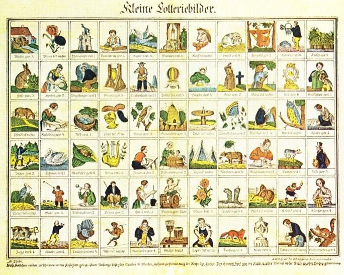Lotteriespel 1840
