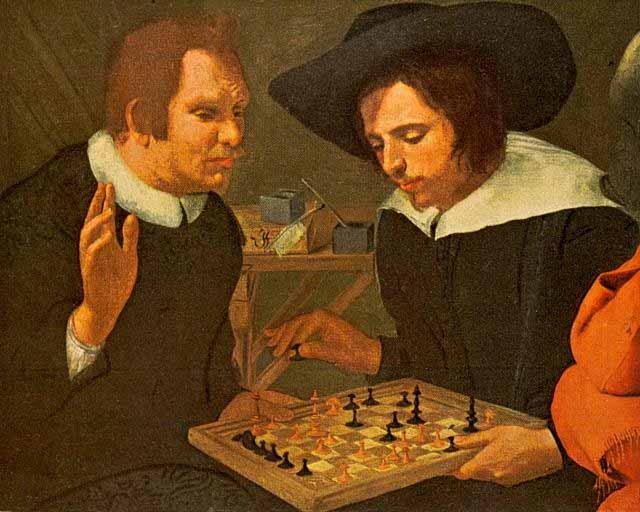 ben-jonson-and-shakespeare-playing-chess-by-karel-van-mander-2402