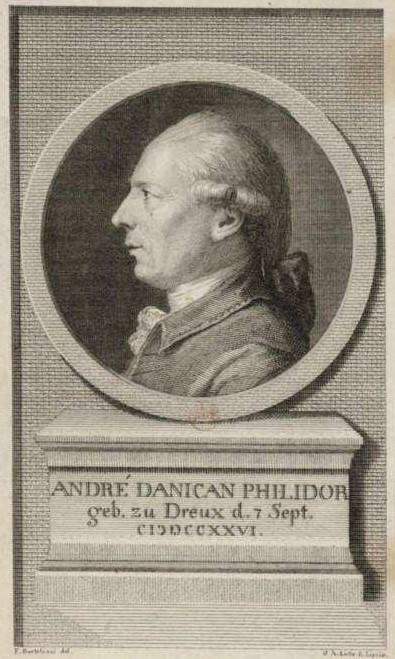 BARTOLOZZI Francesco (1727 – 1815) Andre Danican Philidor. 1977-95 гг.