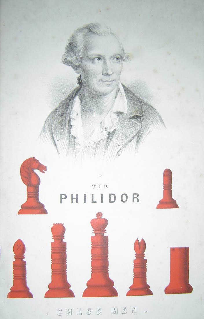 Philidor met stukken