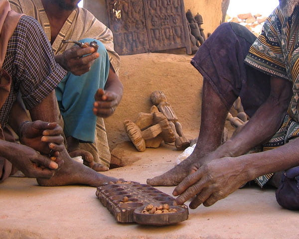 Mancala-Players-Dogon-Square