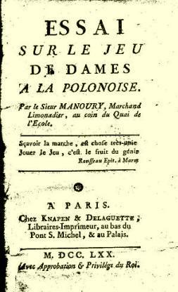 Manoury boek