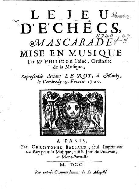 Philidor sr 1700